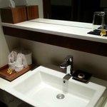 Suite bathroom sink