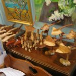 Fine wooden sculptures Cayman oil paintings