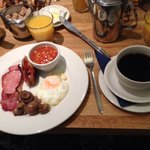 English Breakfast en Alhambra Londres