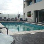 La piscina impecable