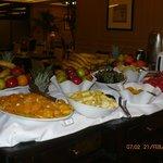 Desayuno continental y variado