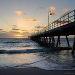 Glenelg Pier Sunset.