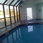The indoor pool is wonderful especially on a chilly day. Its great on a hot day too.