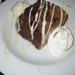 hazelnut bread pudding