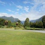 Garden- got the stunning mountain view