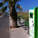 Old Tel Aviv Port Area playpark bycicle station