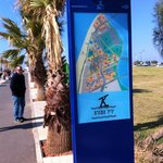 Old Tel Aviv Port Area playpark area map