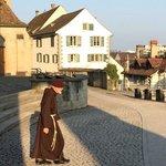 Монах-капуцин из соседнего монастыря
