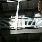 inside stairwell