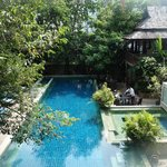 An oasis in the midst of busy Bangkok