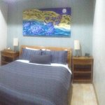 1 bedroom self contained chalet bedroom