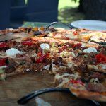 Gourmet pizza's containing only the best ingredients