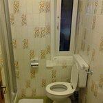 Our old school bathroom