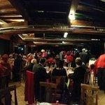 Panoramica dei partecipanti nel bellissimo ristorante discoteca