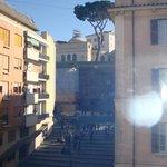 Vista sull'ingresso dei Musei Vaticani