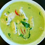 Green Curry (+rice)