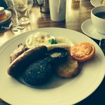 English breakfast £23.50