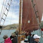 onboard under sail