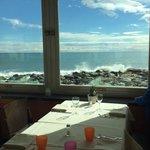 sala ristorante in affaccio sul mare