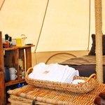 Luxury camping, glamping