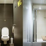 Shared bathrooms and showers