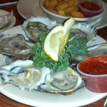 Noank Oysters on the half