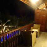 Massive balcony
