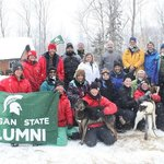 MSU Alumni Dog Sled Tour