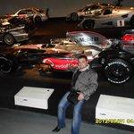 Mашина класс F1 Mclaren Mercedes, на котором Льюис Хэмилтон в 2008 году стал чемпионом мира
