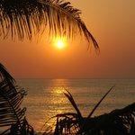 Sunsets over Karon Beach