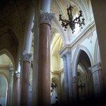 particolare dell'interno della Chiesa Madre di Erice