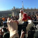 В среду на площади Ватикана !