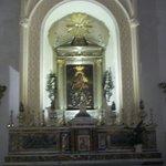 tela che rappresenta la Madonna di Custonaci