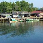 Fishing village next to the resort