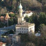 Villa Crespi vista dal sacro Monte