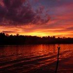 Sonnenuntergang von Osmans Steg aus