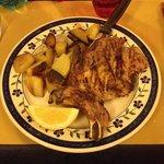 Bistecchina di maiale con patate al forno