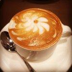 Latte Art at Breakfast