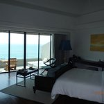 Room 105: view of a deluxe sea-view room