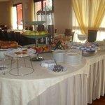 un gran buffet