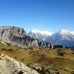Sicht auf Alp Sielten