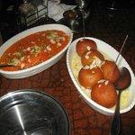 Carrot Halva and Gulab Jamun