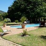 Der zweite Pool in der Nähe der Gästewohnungen