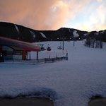 South Ridge Lodge at dawn