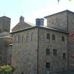 veduta parziale del monastero