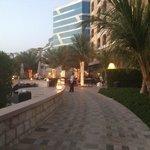 Walkway betweeen Hotels