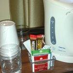 Il kit gratuito bollitore+prodotti solubili