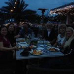 Gulfside Adventures dinner charter at Island Way Grill