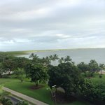 View from oceanview room
