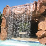 Waterfall in the Kids Area